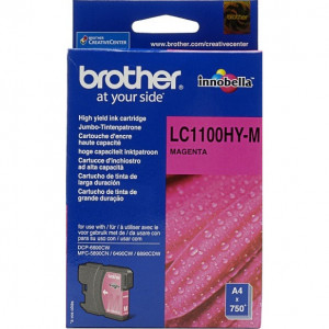 Картридж BROTHER LC1100HYM пурпурный увеличенный