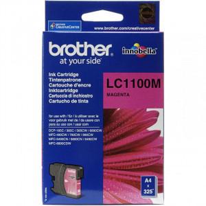 Картридж BROTHER LC1100M пурпурный стандартный