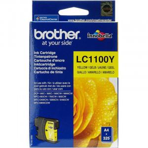 Картридж BROTHER LC1100Y желтый стандартный