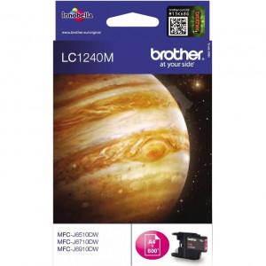 Картридж BROTHER LC1240M стандартный, пурпурный