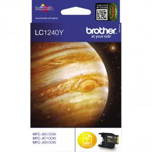 Картридж BROTHER LC1240Y стандартный, желтый