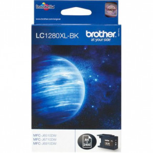 Картридж BROTHER LC1280XLBK увеличенный, черный