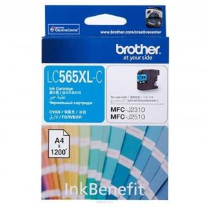 Картридж BROTHER LC565XLC синий