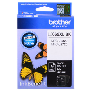 Картридж BROTHER LC663BK черный