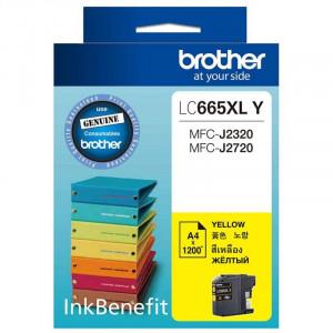 Картридж BROTHER LC665XLY увеличенный желтый