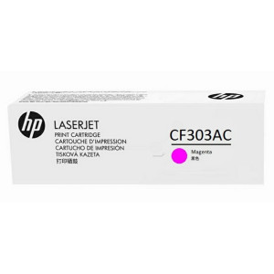 CF303AC Картридж HP 827A Magenta LaserJet Toner Cartridge пурпурный, оригинал