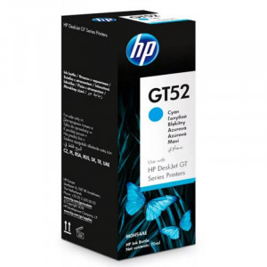 Картридж HP (Чернила) M0H54AE GT52 Голубой (70 мл) GT5810/5820 8000 стр . оригинал