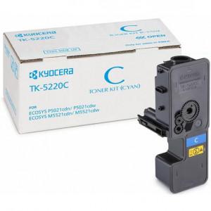 Тонер-картридж Kyocera TK-5220C  Cyan для P5021cdn/cdw, M5521cdn/cdw (1 200 стр.), арт. 1T02R9CNL1