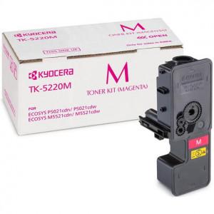Тонер-картридж Kyocera TK-5220M Magenta для P5021cdn/cdw, M5521cdn/cdw (1 200 стр.), арт. 1T02R9BNL1