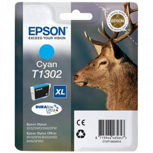 Картридж EPSON T13024012 new B42WD/SX525WD//BX625WFD/BX320FW голубой