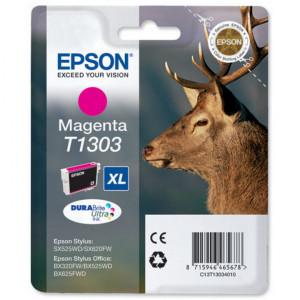 Картридж EPSON T13034012 new B42WD/SX525WD//BX625WFD/BX320FW пурпурный