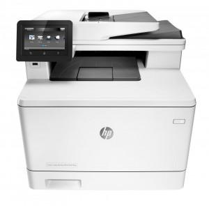 МФУ HP Color LaserJet Pro MFP M477fnw, A4,  CF377A#B19