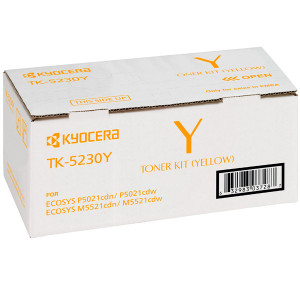 Тонер-картридж TK-5230Y Yellow для P5021cdn/cdw, M5521cdn/cdw (2 200 стр) арт.1T02R9ANL0
