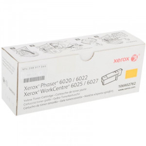 Xerox 106R02762 Принт-картридж желтый (1K) для Xerox WC 6027