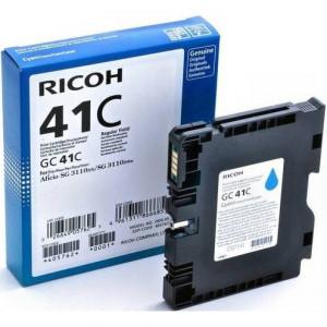 Print Cartridge GC 41C Картридж для гелевого принтера повышенной емкости GC 41C голубой