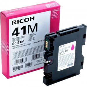 Print Cartridge GC 41M Картридж для гелевого принтера повышенной емкости GC 41M пурпурный