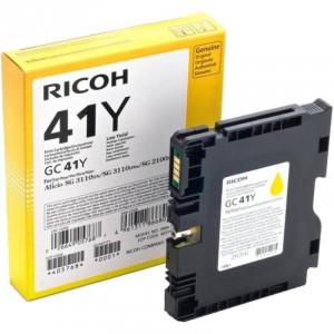 Print Cartridge GC 41Y Картридж для гелевого принтера повышенной емкости GC 41Y желтый