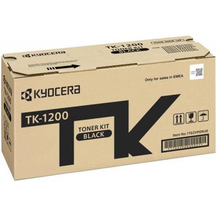 Тонер К-ж Kyocera TK-1200 для P2335d/P2335dn/P2335dw/M2235dn/M2735dn/M2835dw, 3 000 стр., оригинал