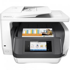 МФУ струйный HP OfficeJet Pro 8730 e-AiO (D9L20A) A4 Duplex WiFi USB RJ-45 белый D9L20A