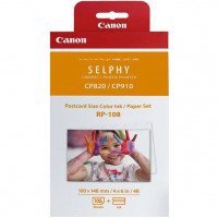 Набор печати Canon RP-108IN к SELPHY CP1300/1200/910/820