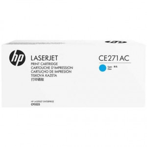 CE271AC Картридж HP CLJ CP5520 голубой, оригинал