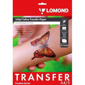 Бумага А4 для временных татуировок Inkjet Tattoo Transfer 2010450