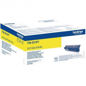 Тонер к-ж  BROTHER TN-910Y для MFC-L9570CDW желтый оригинал