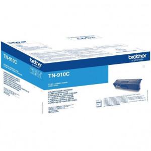 Тонер к-ж  BROTHER TN-910C для MFC-L9570CDW синий оригинал
