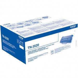 Тонер-картридж BROTHER TN-3520 HL-L6400DW, HL-L6400DWT, MFC-L6900DW, MFC-L6900DWT оригинал