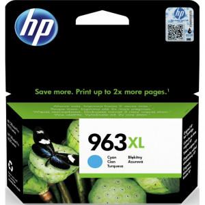 К-ж HP 3JA27AE  №963XL струйный голубой увеличенной ёмкости (1600 стр)