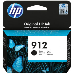 К-ж HP 3YL80AE  №912 струйный черный (300 стр)