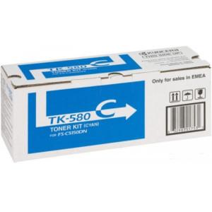 Тонер к-ж Kyocera TK-580C для FS-C5150DN Cyan 2.8K (o)