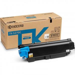 Тонер-картридж TK-5270C 6 000 стр. Cyan для M6230cidn/M6630cidn/P6230cdn оригинал
