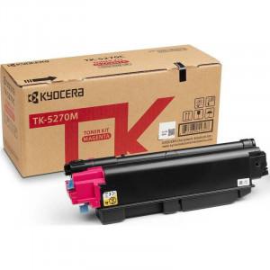 Тонер-картридж TK-5270M 6 000 стр. Magenta для M6230cidn/M6630cidn/P6230cdn оригинал