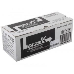 Тонер к-ж Kyocera TK-590K для FS-C2026 черный  7000 стр. ориг.