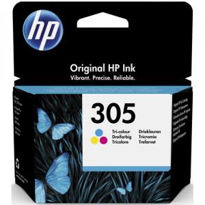 К-ж HP 3YM60AE №305 струйный трёхцветный (100 стр)