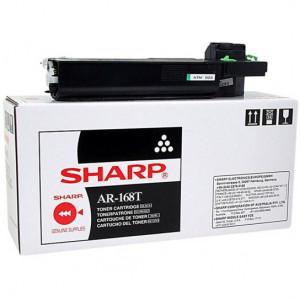 Тонер-картридж (AR-168T/AR168LT) черный оригинал (8К) для Sharp AR122 / AR150 / AR153 / AR5012 / AR5