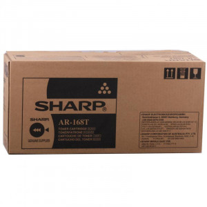 Тонер-картридж (AR-208T/AR208LT) черный оригинал (8К) для Sharp AR5420 / AR203E / ARM201