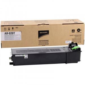 Тонер-картридж (AR-020T/AR020LT) черный оригинал (16К) для Sharp AR5516 / AR5520