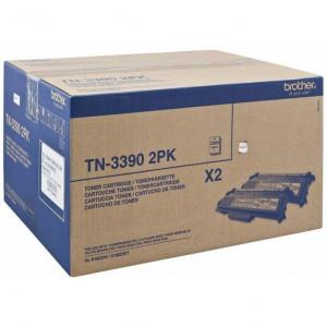 Тонер картридж  BROTHER TN-3390TWIN  HL6180DW 12000 стр. ориг двойной