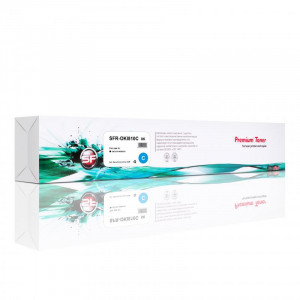 Картридж SuperFine SFR-OKI810C для OKI 810 44059119 Cyan