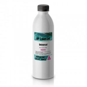 Тонер HP Color LJ Universal бутылка 500 гр Magenta SuperFine