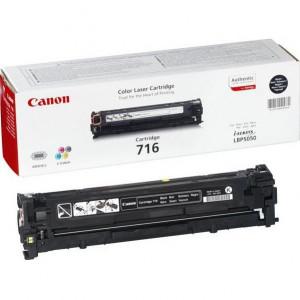 Тонер-картридж CANON 716Bk к LBP 5050 черный оригинал