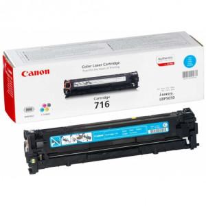 Тонер-картридж CANON 716C к LBP 5050 синий оригинал