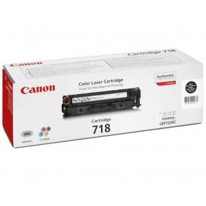 Тонер-картридж CANON 718Bk к LBP 7200/MF8330/8350 черный оригинал
