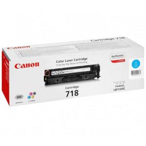 Тонер-картридж CANON 718C к LBP 7200/MF8330/8350 синий оригинал