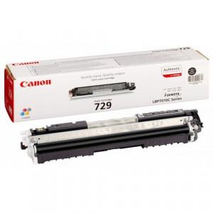 Тонер-картридж CANON 729Bk (i-SENSYS LBP7010C/LBP7018C) черный оригинал