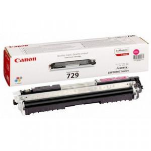 Тонер-картридж CANON 729M к (i-SENSYS LBP7010C/LBP7018C) пурпурный оригинал
