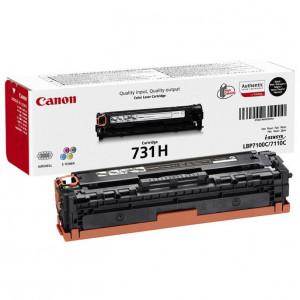 Тонер-картридж CANON 731HBk для LBP 7100Cn/7110Cw черный  увеличенный оригинал