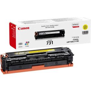 Тонер-картридж CANON 731Y для LBP 7100Cn/7110Cw желтый оригинал
